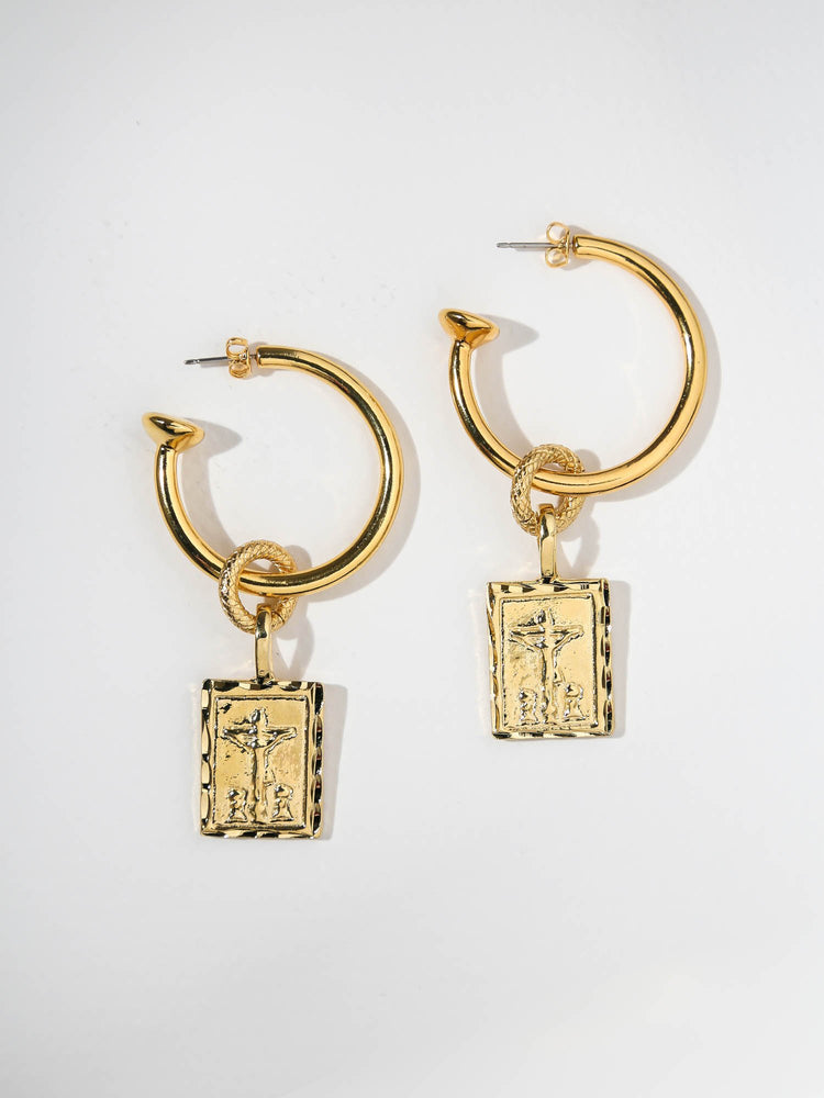 THE GIOVANNI HOOP EARRINGS