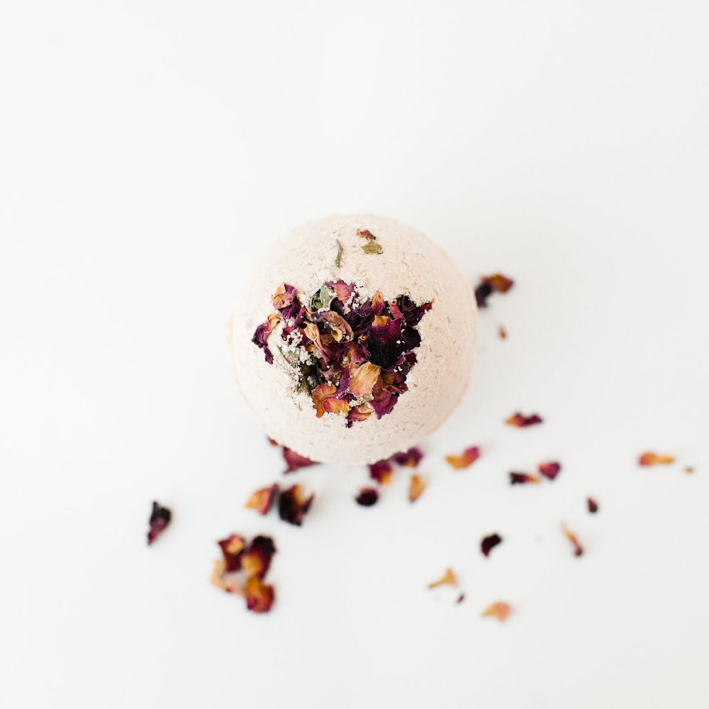 GROUND YOUR BEING- ROOT CHAKRA BATH BOMB