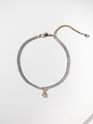 THE BELINDA CHOKER - SILVER