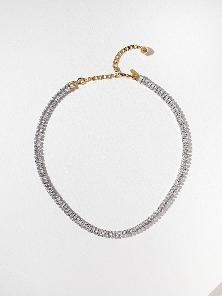 THE CINDY CHOKER - SILVER