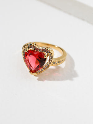 The Cherry Heart Ring