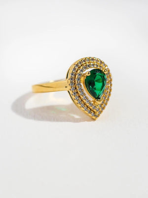 The Garland Emerald Ring