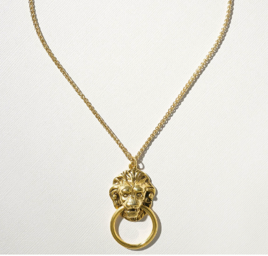 THE VANDAL DOOR KNOCKER NECKLACE