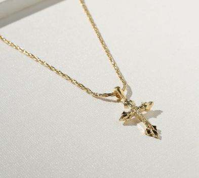 THE ANASTASIA CROSS NECKLACE