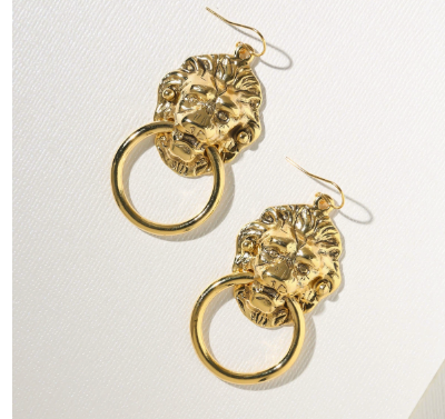 THE SMALL VANDAL DOOR KNOCKER EARRINGS