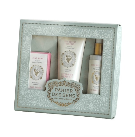 Body Care Gift Set Renewing Grape
