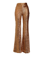 The Copper Sparkle pants