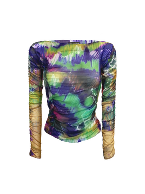 The Glamour Top in Fireworks