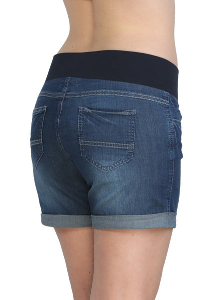 DH229 Maternity denim shorts 2 in 1