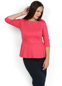 Blouse Stefi coral maternity and nursing