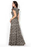 DSP-221-45t creamy Dior Dress length Maxi