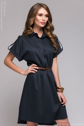 Dress-shirt DM00526DB Navy