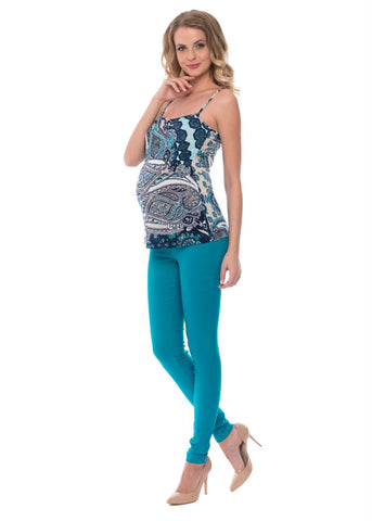 """Rasmus"" Maternity emerald pants 2 in 1"