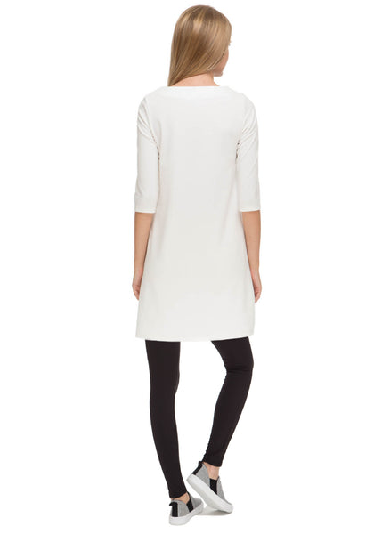 "Whitney"" milk Maternity and nursing dress"