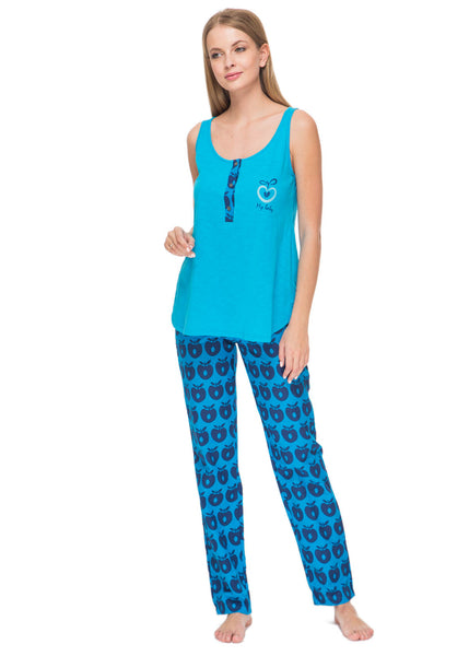 """Bernie"" Maternity set in blue"