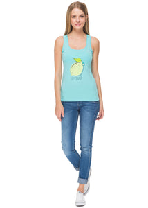 Nursing MX01 tank top; color: Aqua