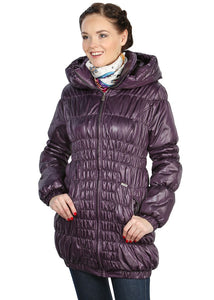 "Jacket ""Sandra"" plum demi"