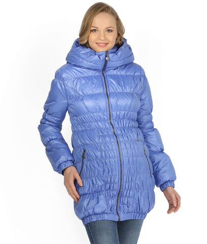 "Jacket ""Sandra"" demis. 3in1 ultramarine for pregnant women and babywearing"