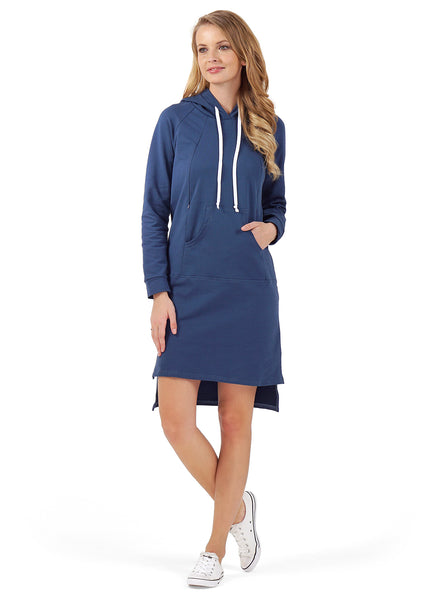 Nellie maternity and nursing Tunic; color: Indigo