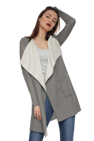 FH29712 cardigan color: light grey