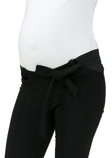 """Sevastian"" Maternity insulated pants color: black"