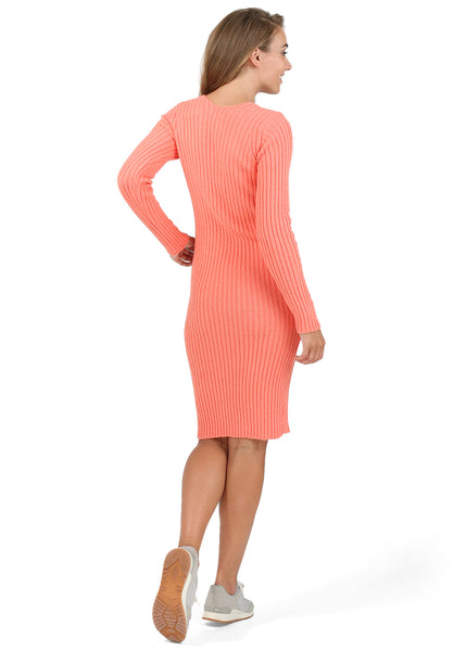 """Holly"" Maternity dress color: salmon"