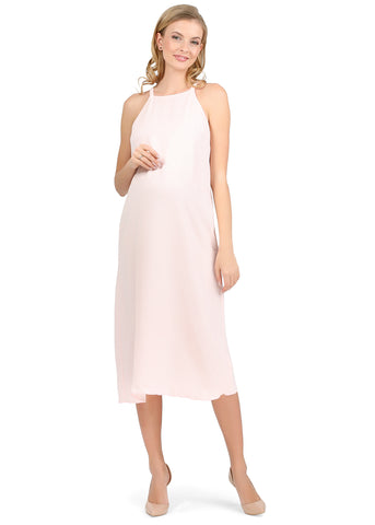 """Leon"" maternity Sundress ; color: soft pink"