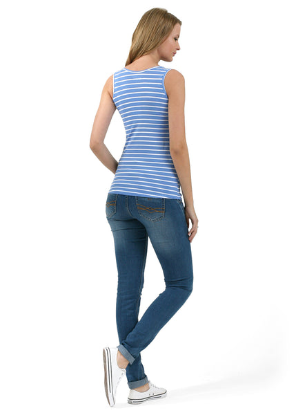Nursing MX01 tank top; color: enim / biały