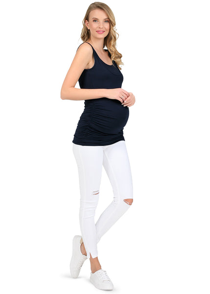 """Nina"" Maternity and Nursing Mike; color: dark blue"