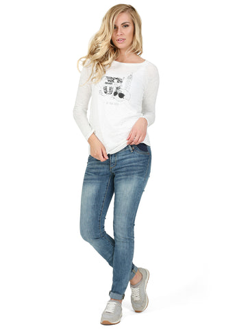 "Jeans ""Ashton"" maternity light denim"