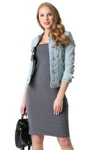 """Leila"" dressing for pregnant and lactating women; color: anthracite"