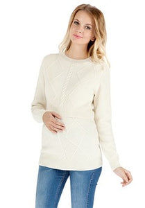 "Jumper ""Kelen"" lacteous for maternity and nursing"