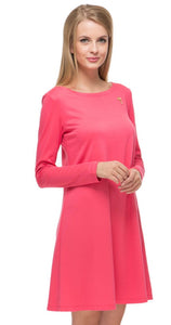 """Earlene"" coral Maternity dress"