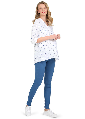 "Jeans ""Adner"" Maternity 2in1;  colour: dark blue"