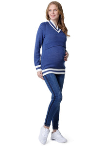 "Jeans ""Madrid"" Maternity; color: dark denim"