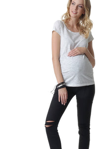 Reims jeans for pregnant women; black colour
