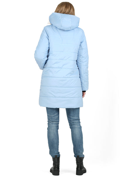"Winter jacket 3 in 1 ""Malaysia"" for pregnant women and baby wear; blue color"