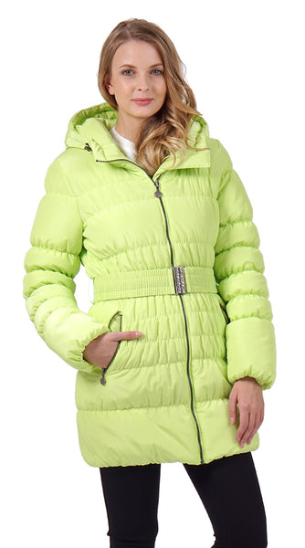 "Winter jacket 2in1 ""Malta"" for pregnant women, usual color: lime"