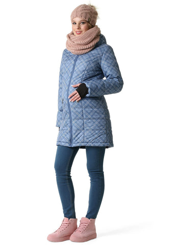 "Winter jacket 2 in 1 ""Madeira""; color: color: blue"