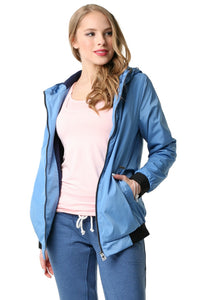 "Jacket demi-season  ""Orlando"" ; blue color"