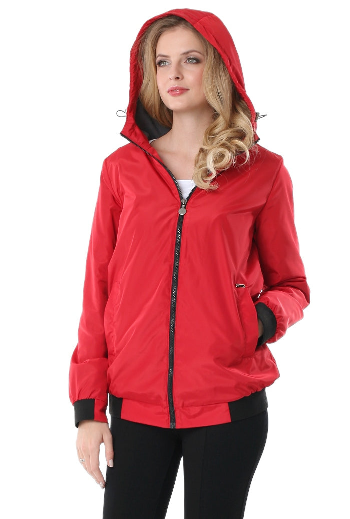 "Jacket demi-season ""Orlando"" ; color: red"
