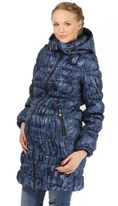 "Jacket ""Sinti"" demis. 2in1 sapphire for pregnant women, ordinary jacket"