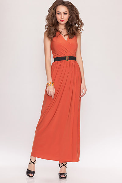 DSP-90-12 Ochre Dress length Maxi