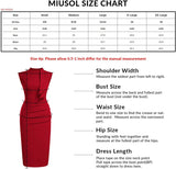 Women's Retro 1950s Style Half Collar Ruffle Cocktail Pencil Dress