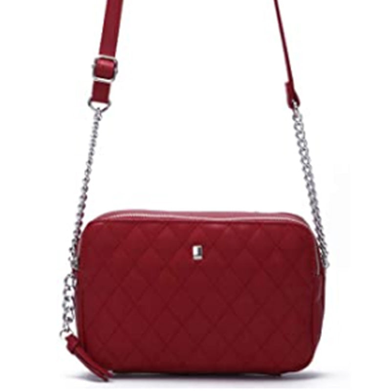 David Jones Red Crossbody Shoulder Bag