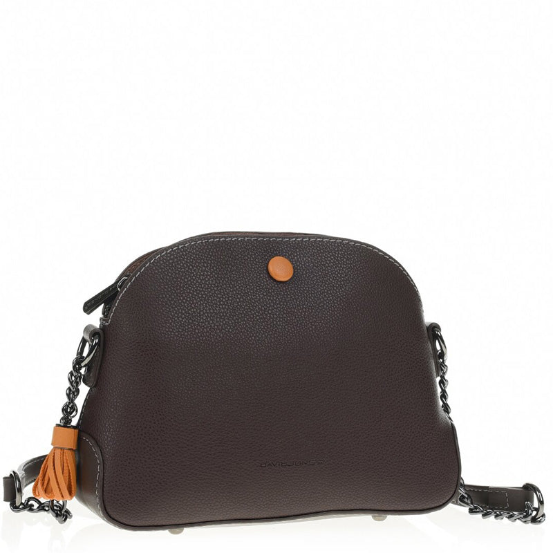 David Jones Brown Crossbody Shoulder Bag