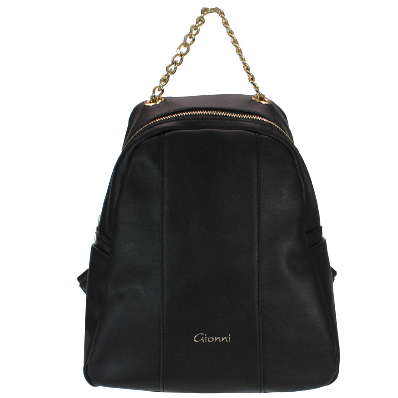 Gionni Black Backpack Grab Bag