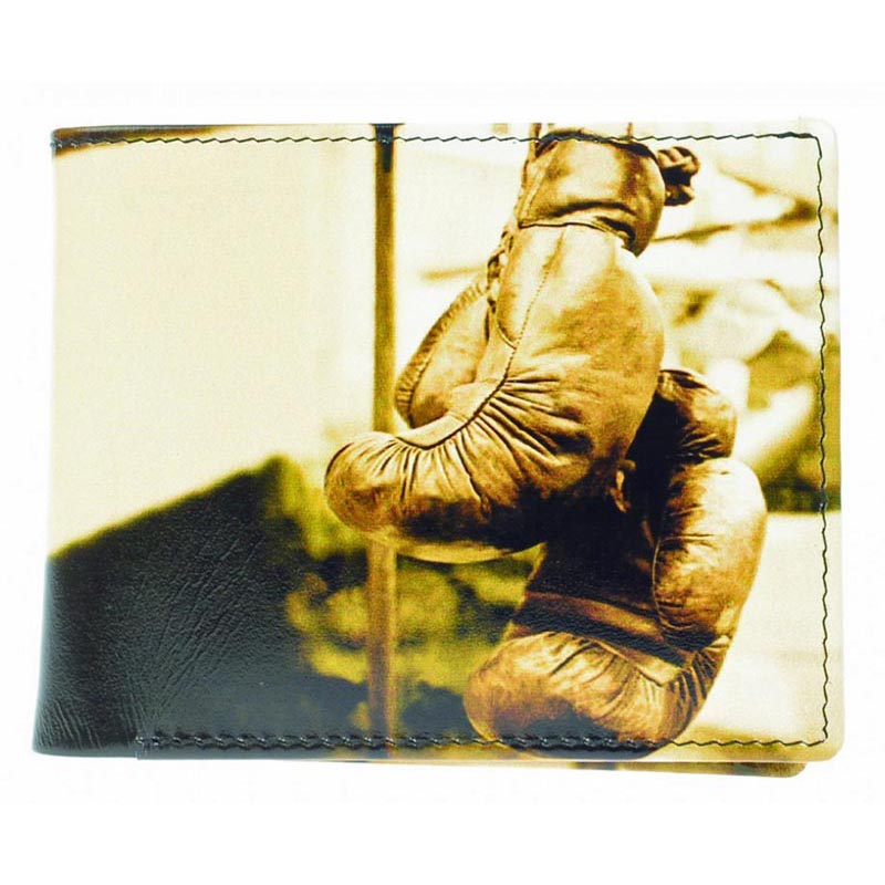 Golunski Leather Boxing Glove Credit Card Notecase
