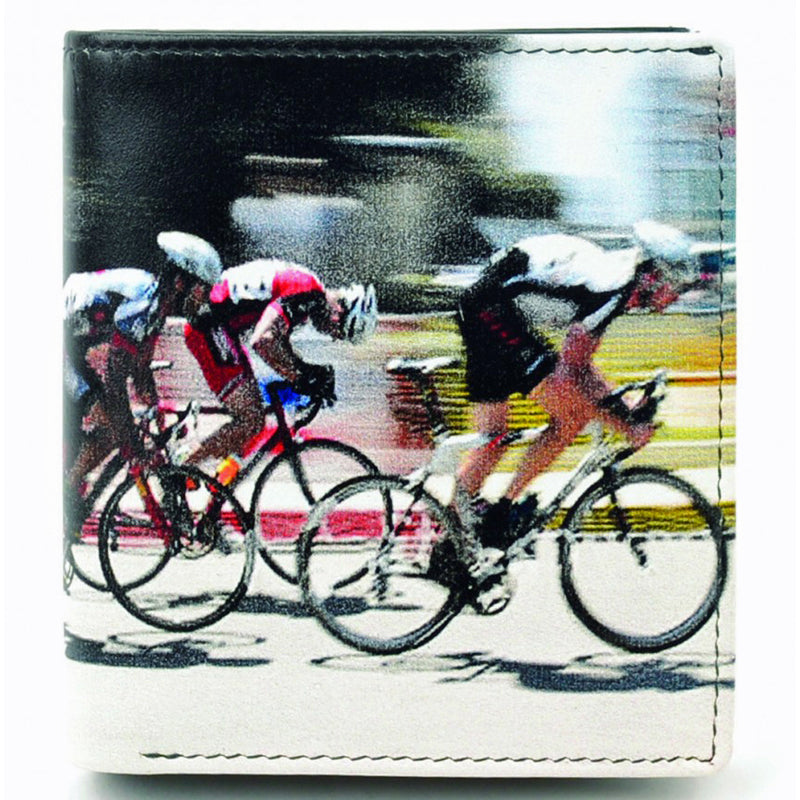 Golunski Leather Cycling Coin Section Credit Card Notecase