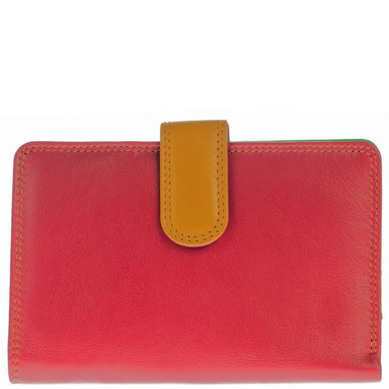 Golunski Spice Multicoloured Leather Front Flap And Back Flap Purse